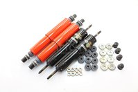 set shock absorbers (4) Koni red Fiat 500 / 126