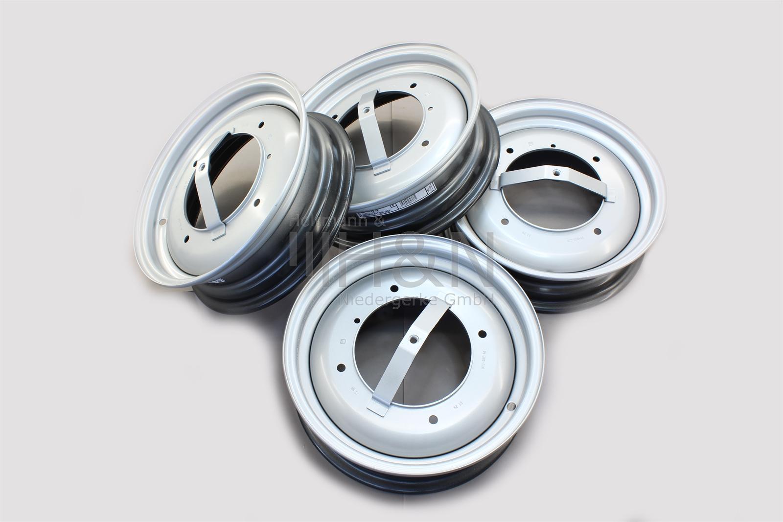 Stahlfelgen Satz 4 Stück Felge Fiat 500 F L R  new wheel set 4 pieces