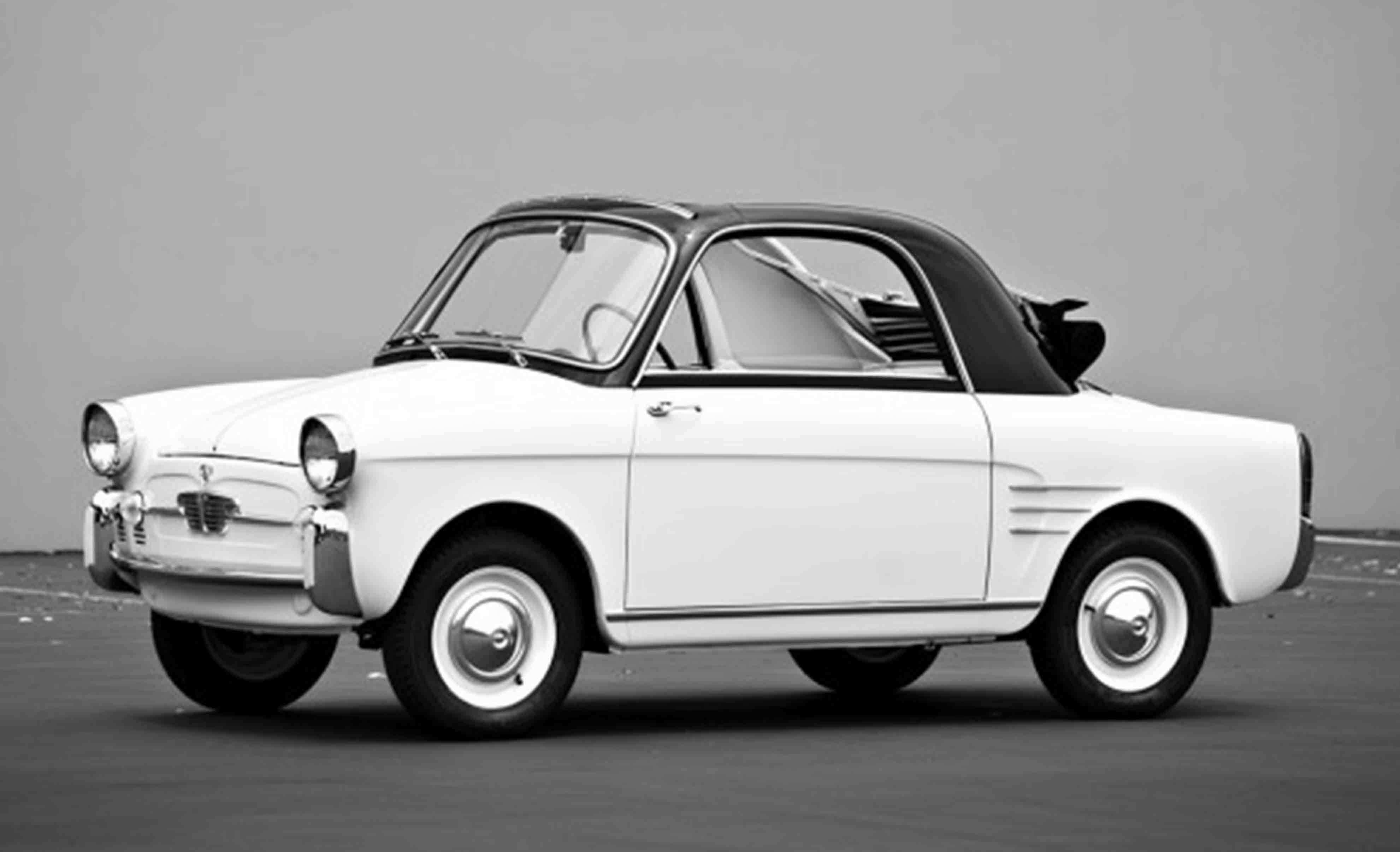 Bianchina on Fiat 850 Berlina