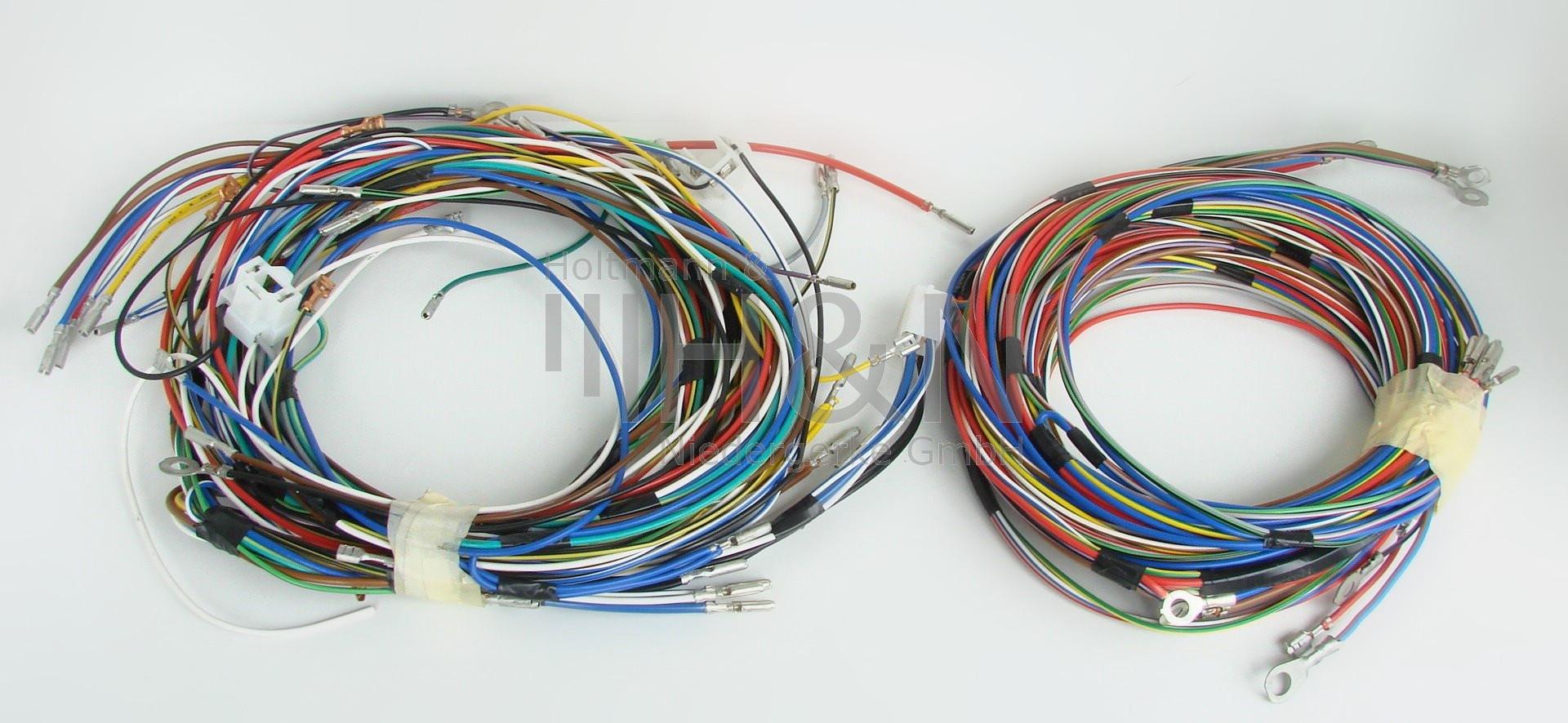 wiring harness fiat 500d, without hazard light  www.fiatparts.de