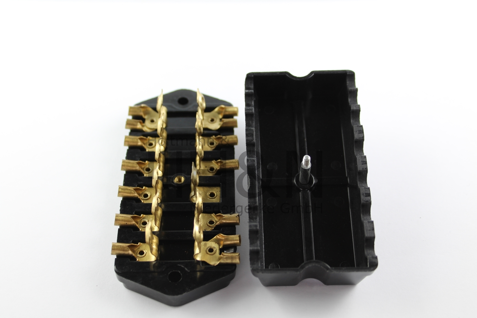 fuse box fiat 500 d/f 1.series/600d/multipla 90mm (6-fuses)  www.fiatparts.de