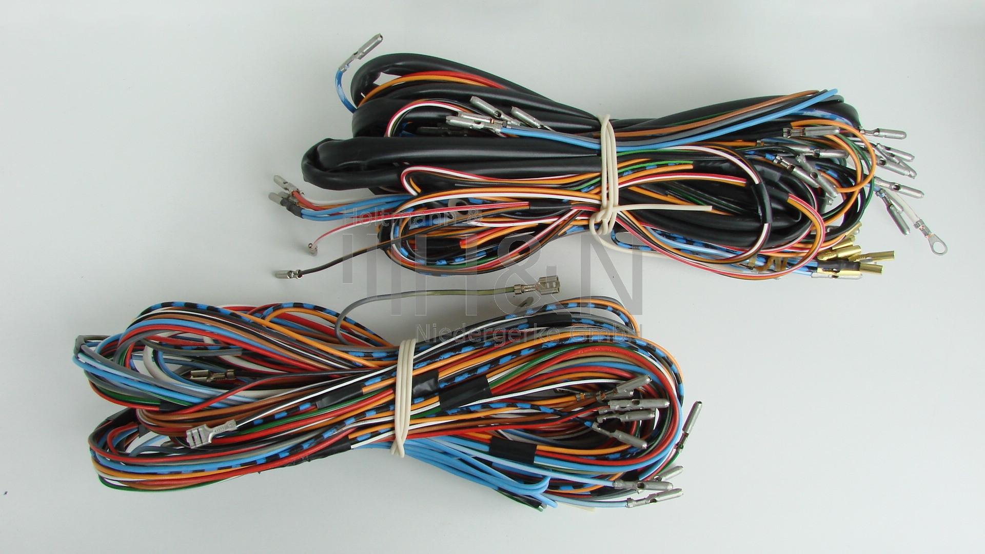 wiring harness fiat 600 d/e front & rear (euro)  www.fiatparts.de
